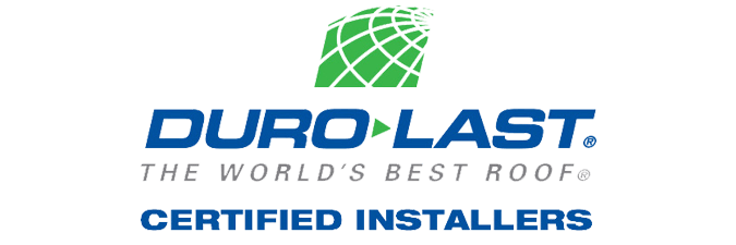 roofing, contractor, hail, damage, storm, rain, water, leak, repair, roofer, custom, roof, free, estimate, inspection, certified, installer, duro last, logo